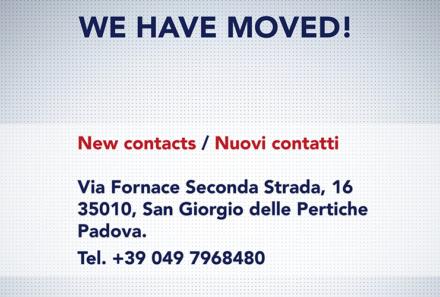 CI SIAMO TRASFERITI / WE HAVE MOVED!